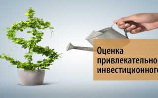 Анализ инвестиционной привлекательности проекта