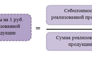 Анализ затрат на рубль выпускаемой продукции