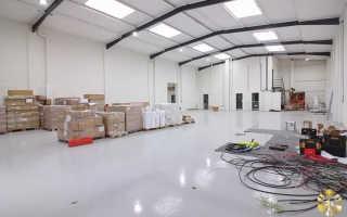 Капитальный ремонт складских помещений